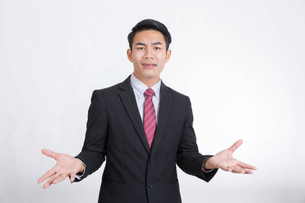 Businessman and refuses the proposal. Businessman and refuses the proposal. disavow stock pictures, royalty-free photos & images