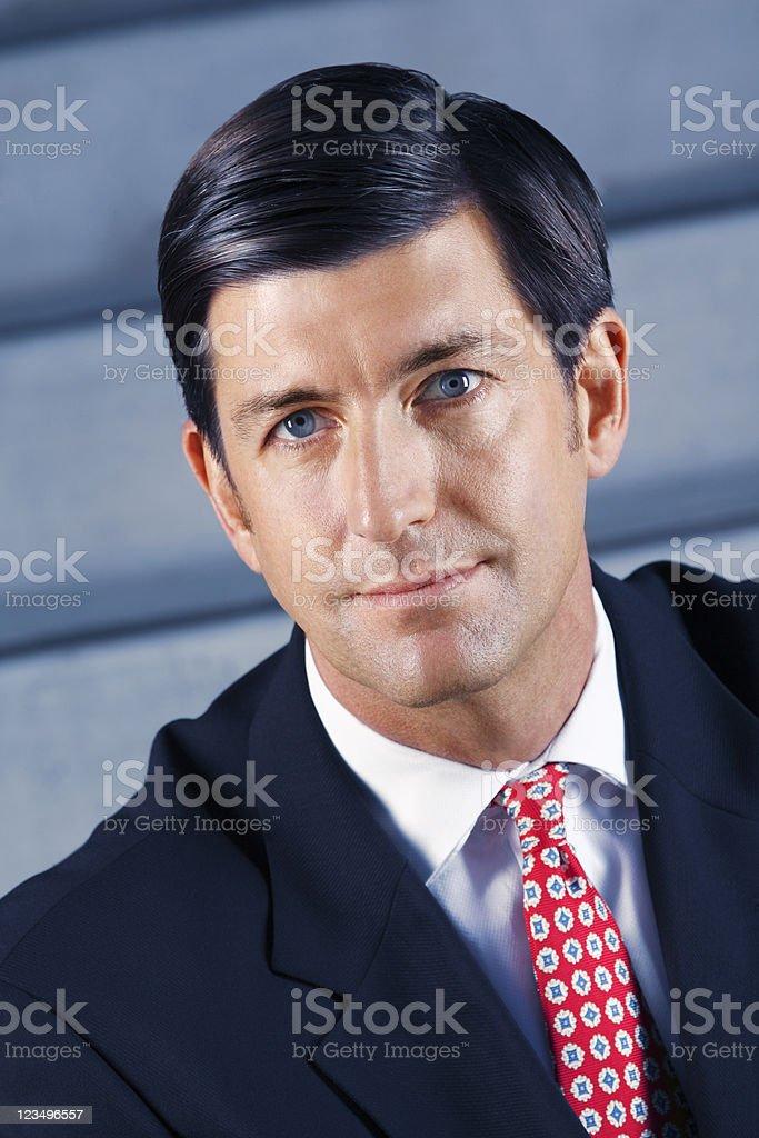 businessman close up portrait royalty-free stock photo