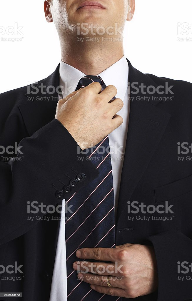 Businessman Closeup royalty-free stock photo