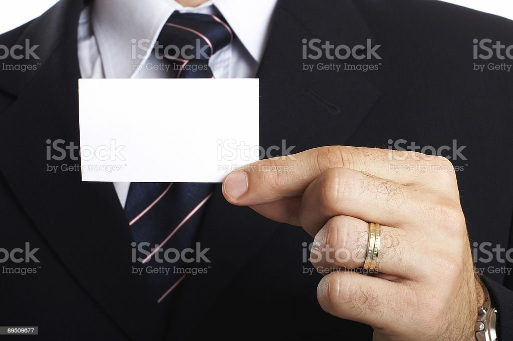 Businessman Closeup royalty-free stock photo