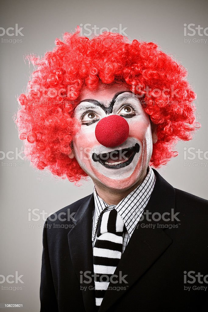 Businessman Clown royalty-free stock photo
