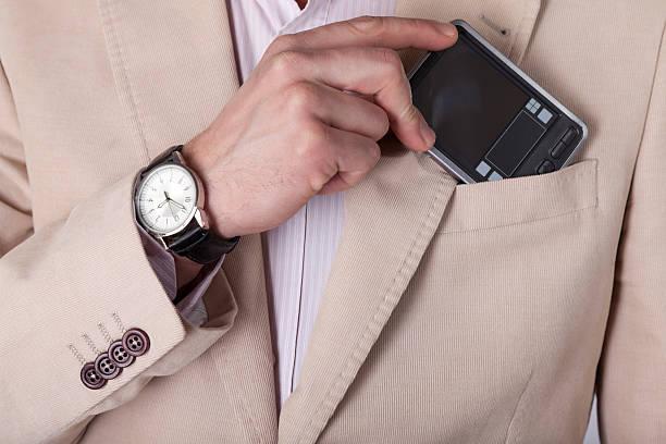 Geschäftsmann-detail – Foto