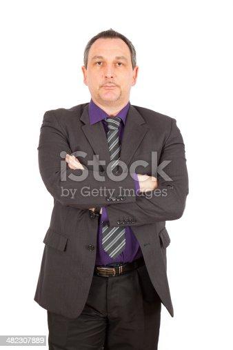 179607668istockphoto Businessman doing different poses 482307889