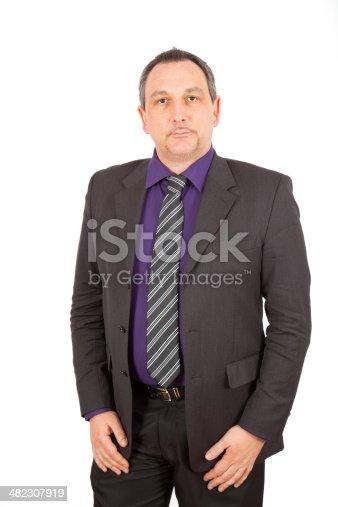 179607668istockphoto Businessman doing different poses 482307919