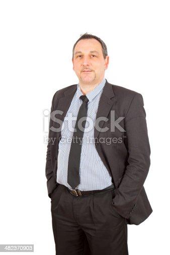 179607668istockphoto Businessman doing different poses 482370903