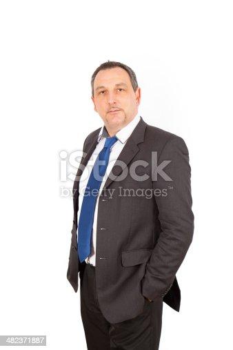 179607668istockphoto Businessman doing different poses 482371887