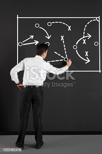 istock businessman drawing business strategy 1022452476