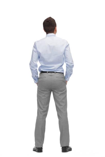 Geschäftsmann von hinten – Foto
