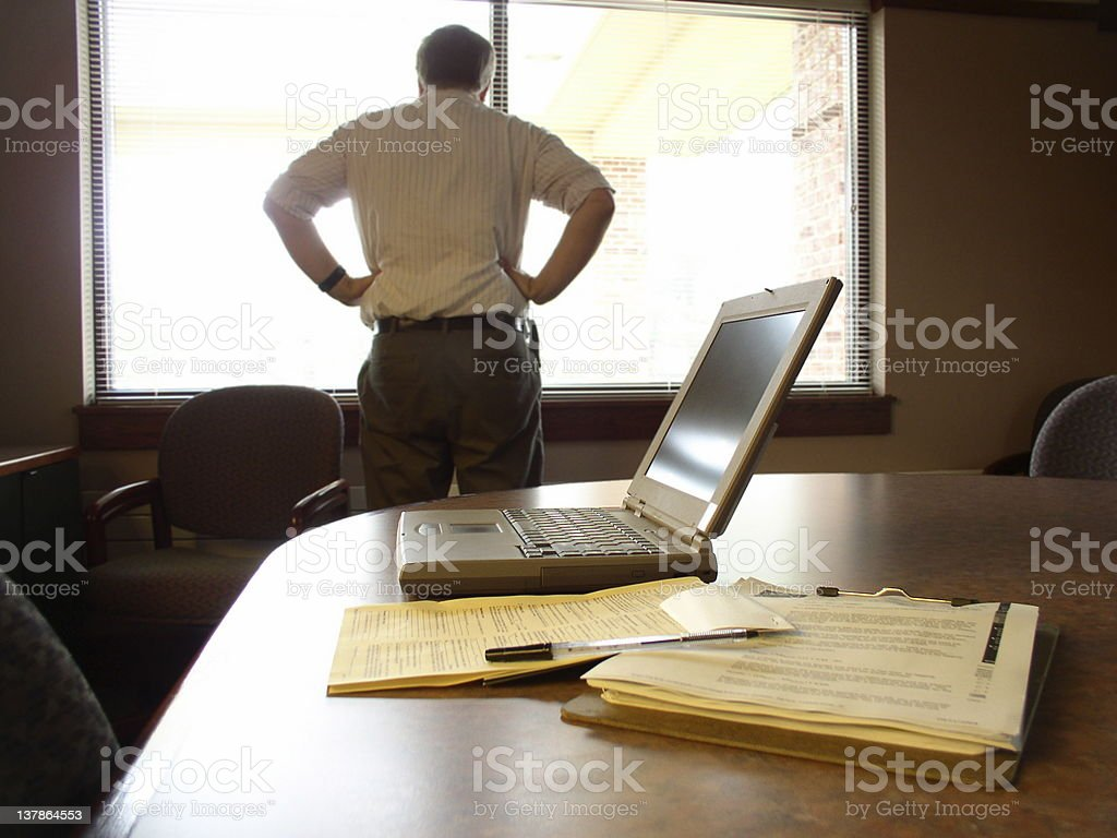 Businessman Frustrated royalty-free stock photo