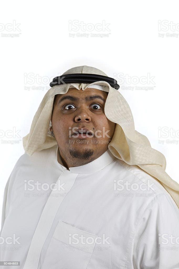 Businessman Gazing royalty-free stock photo