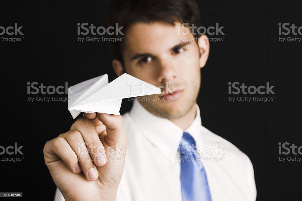 Businessman - Goals royalty-free stock photo