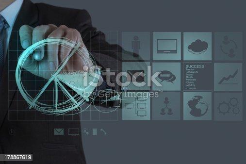 istock businessman hand draws business success chart 178867619