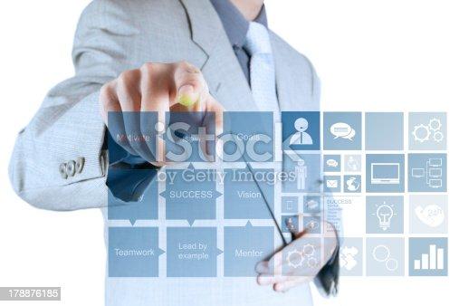 istock businessman hand draws business success chart 178876185