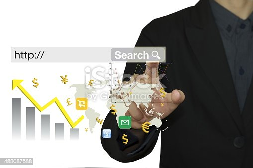 615499454istockphoto businessman hand working with modern computer and analyze graph with technology. 483087588