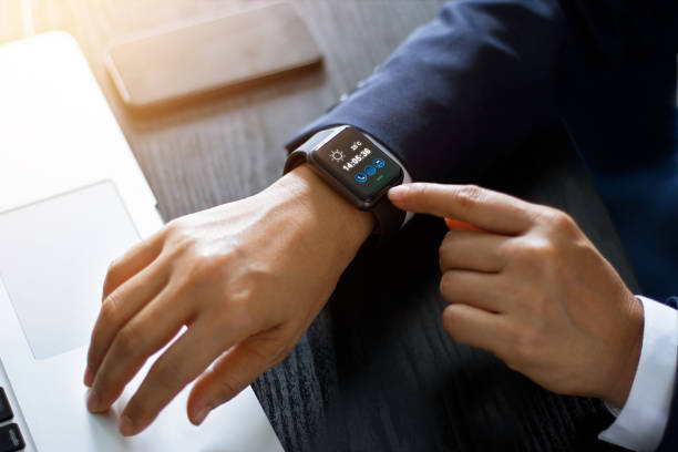 Best Smart Watch Stock Photos, Pictures & Royalty-Free