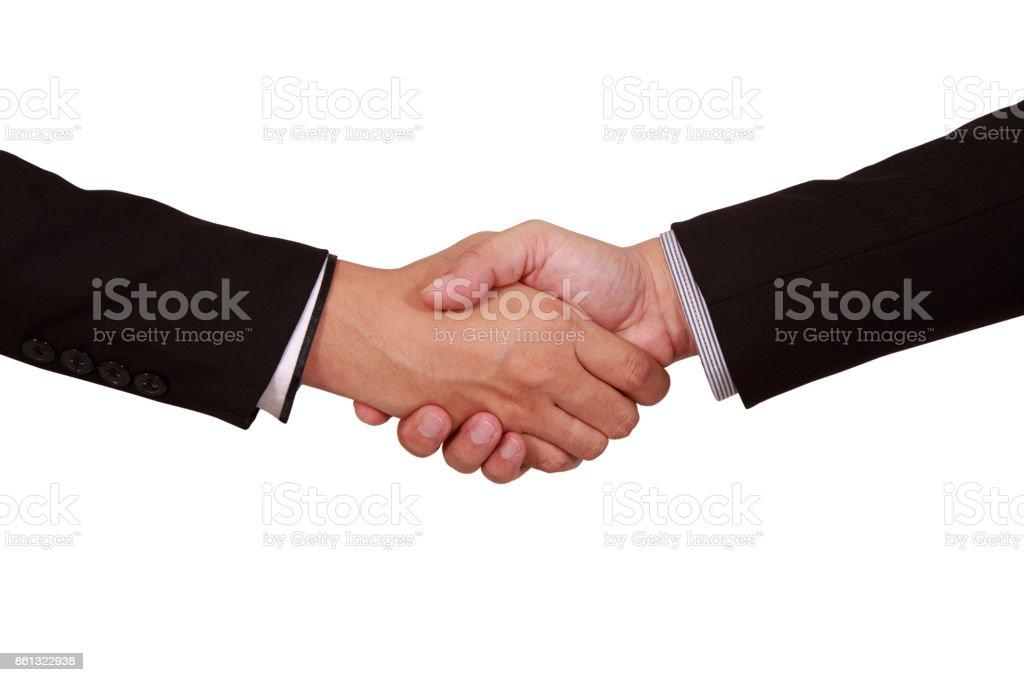 Businessman Handshake stock photo