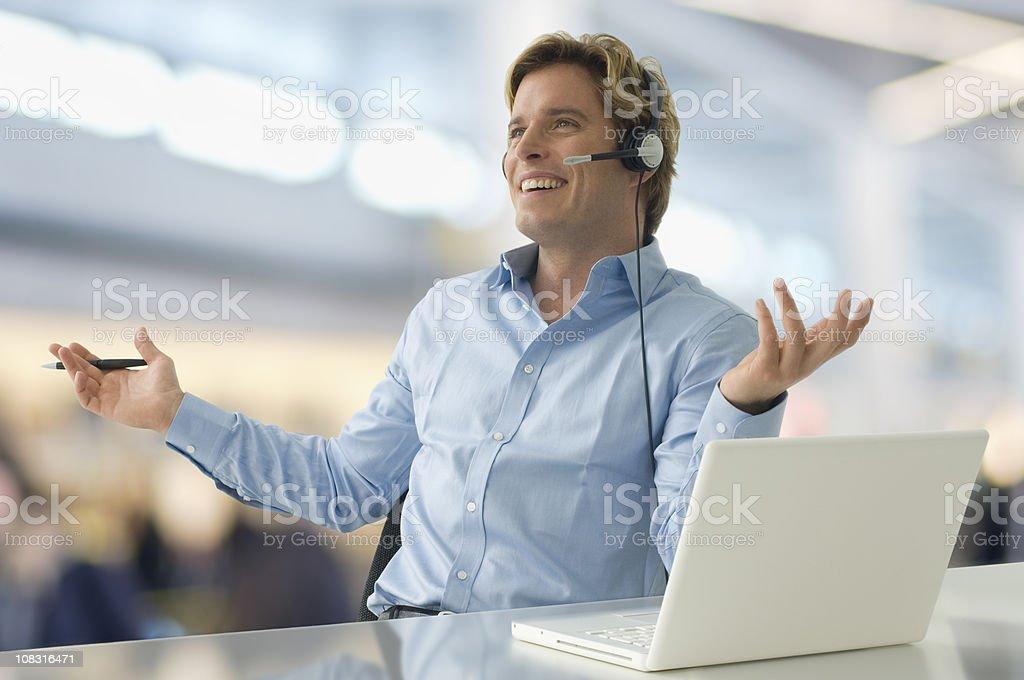 Geschäftsmann glücklich – Foto