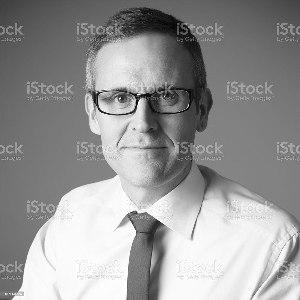 Businessman Headshot royalty-free stock photo