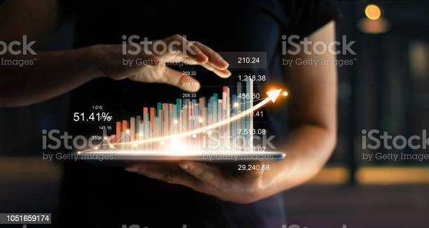 Businessman holding tablet and showing a growing virtual hologram of picture id1051659174?b=1&k=6&m=1051659174&s=612x612&h=16y5gzs0gsgpgvzadn7nikgi 4h3sxkyikfmdqrjsus=