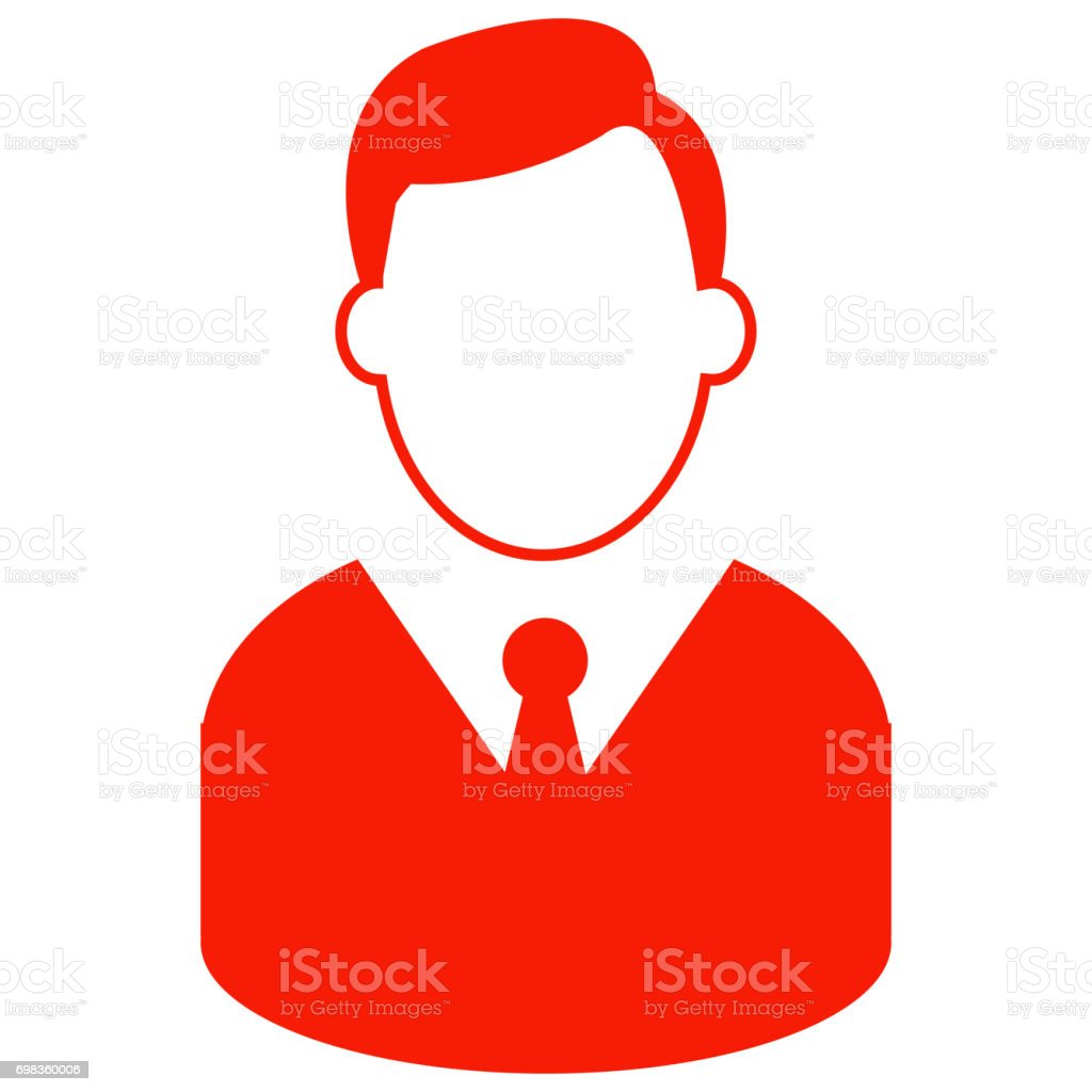 businessman Icon stock photo