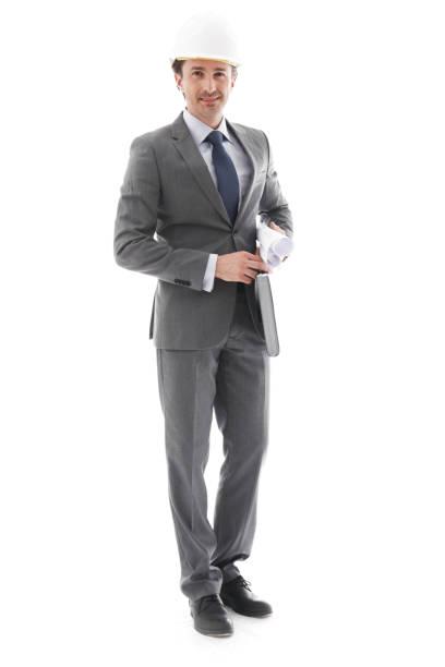 Homme d'affaires dans le casque - Photo