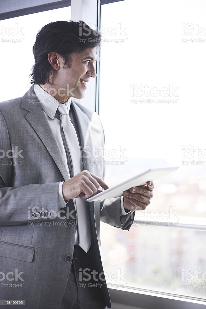 Businessman in his office. royalty-free stock photo