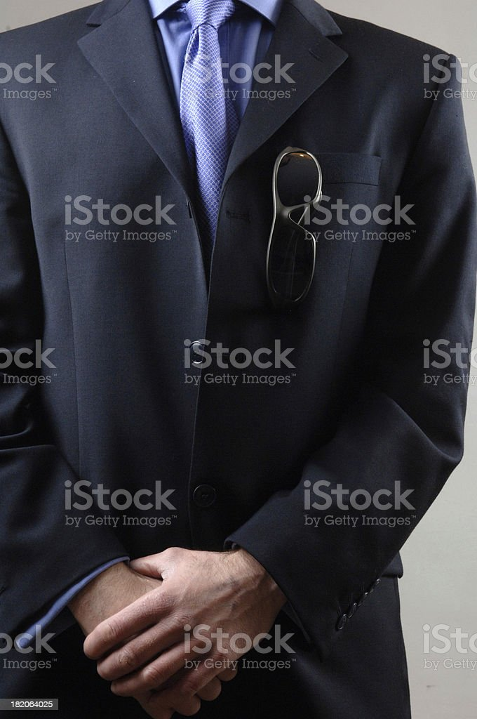 Businessman in Sunglasses royalty-free stock photo