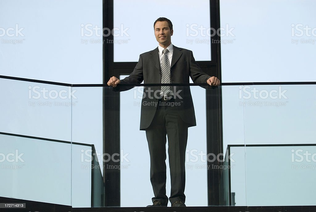 businessman looking at view royalty-free stock photo