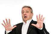 istock Businessman making a stop gesture 516287039