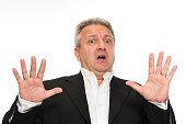 istock Businessman making a stop gesture 516287043