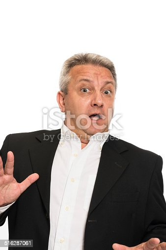 805011368 istock photo Businessman making a stop gesture 516287061