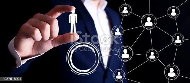 businessman people scheme