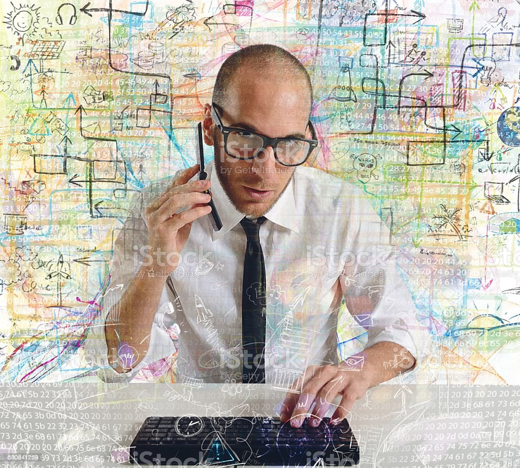 Businessman Phone Stock & More of Adult iStock