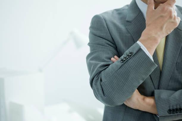ビジネスマン - 悩む ストックフォトと画像