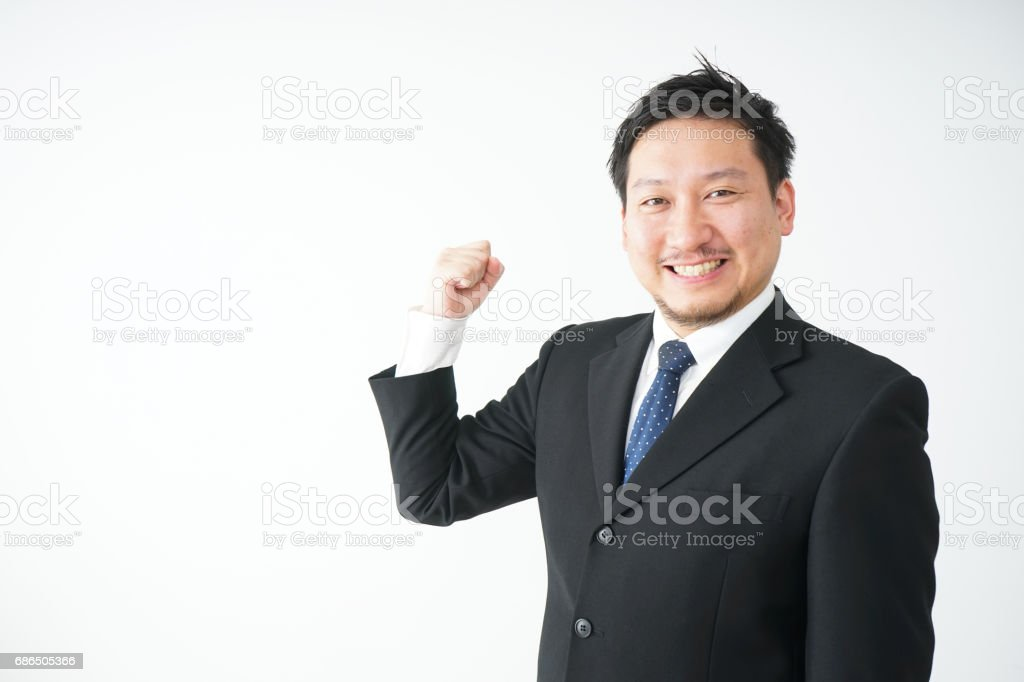zakenman royalty free stockfoto