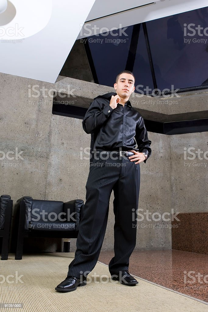 GQ Businessman stock photo