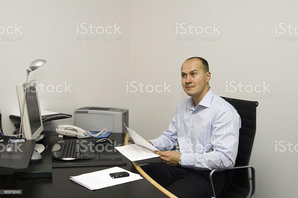 Geschäftsmann Lizenzfreies stock-foto