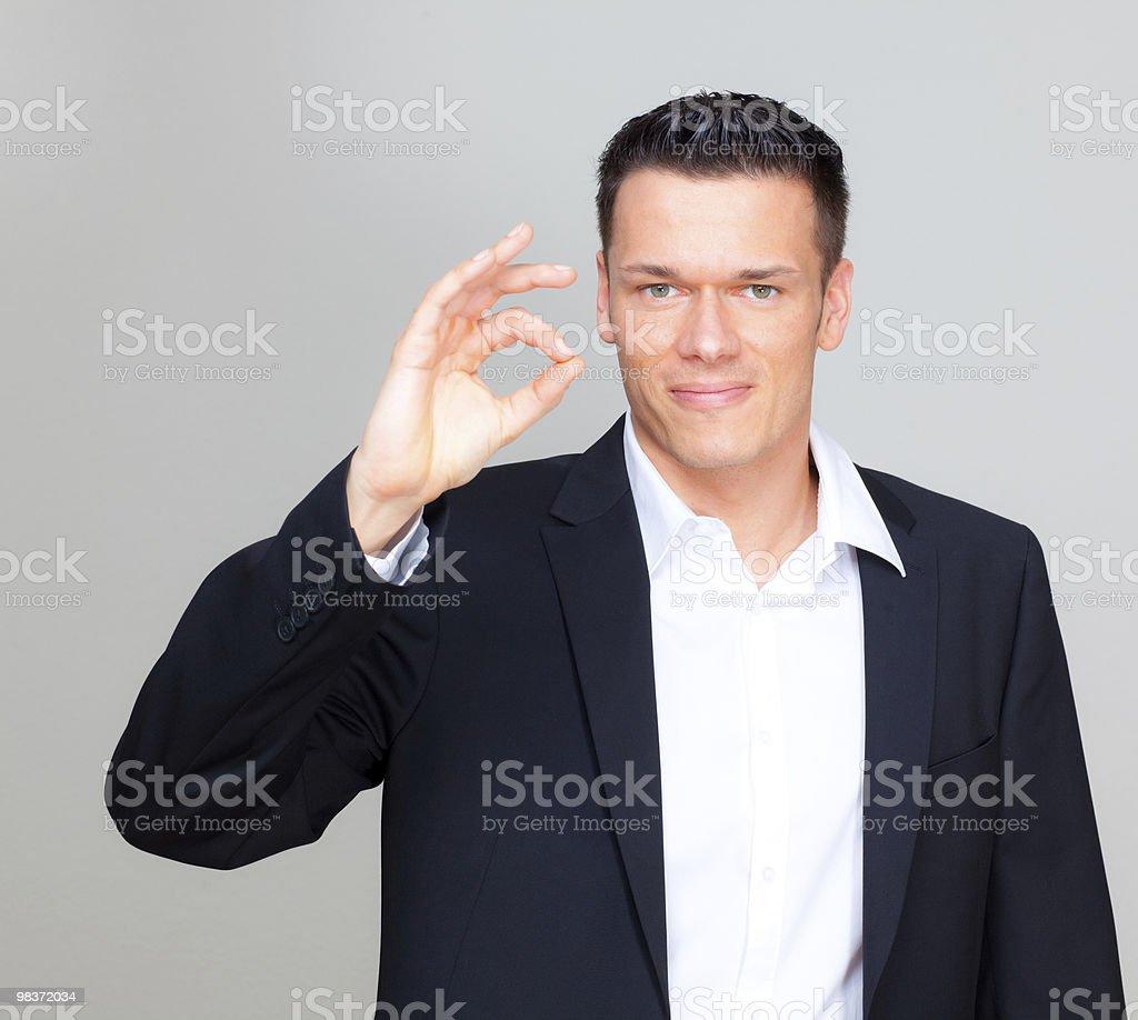 Uomo d'affari foto stock royalty-free