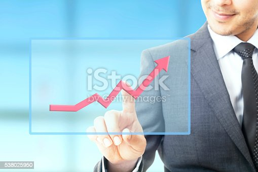 509469434istockphoto Businessman plan growth 538025950