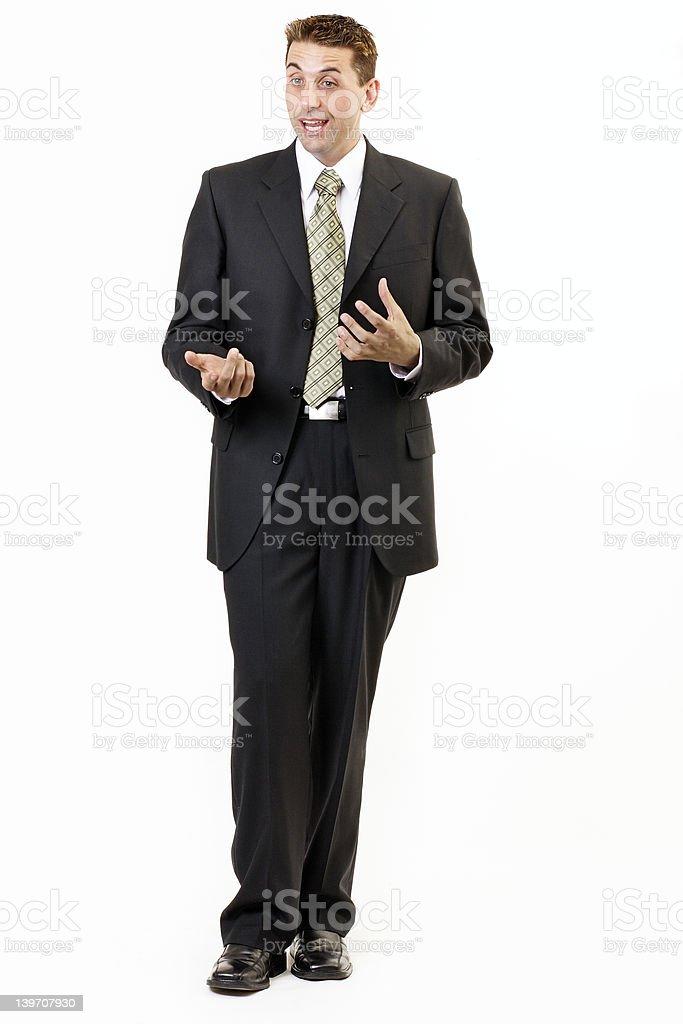 Businessman portrait 5 royalty-free stock photo