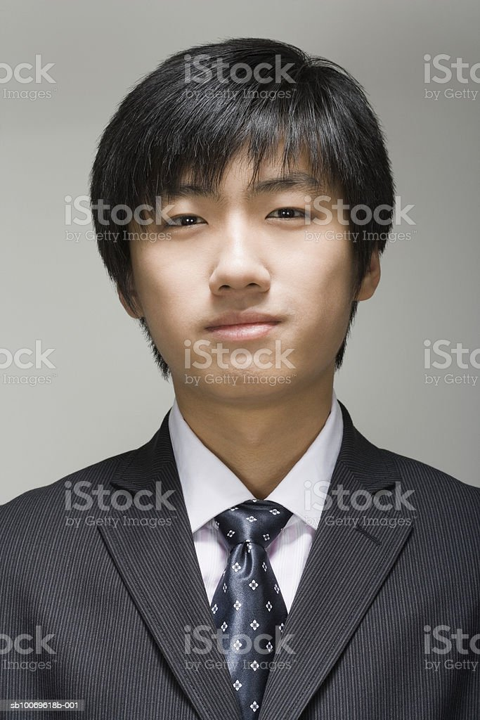 Businessman, portrait, close-up foto royalty-free