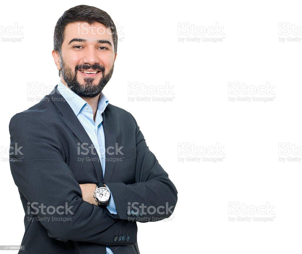 Businessman Portrait stock photo