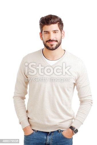 istock Businessman portrait 488379538