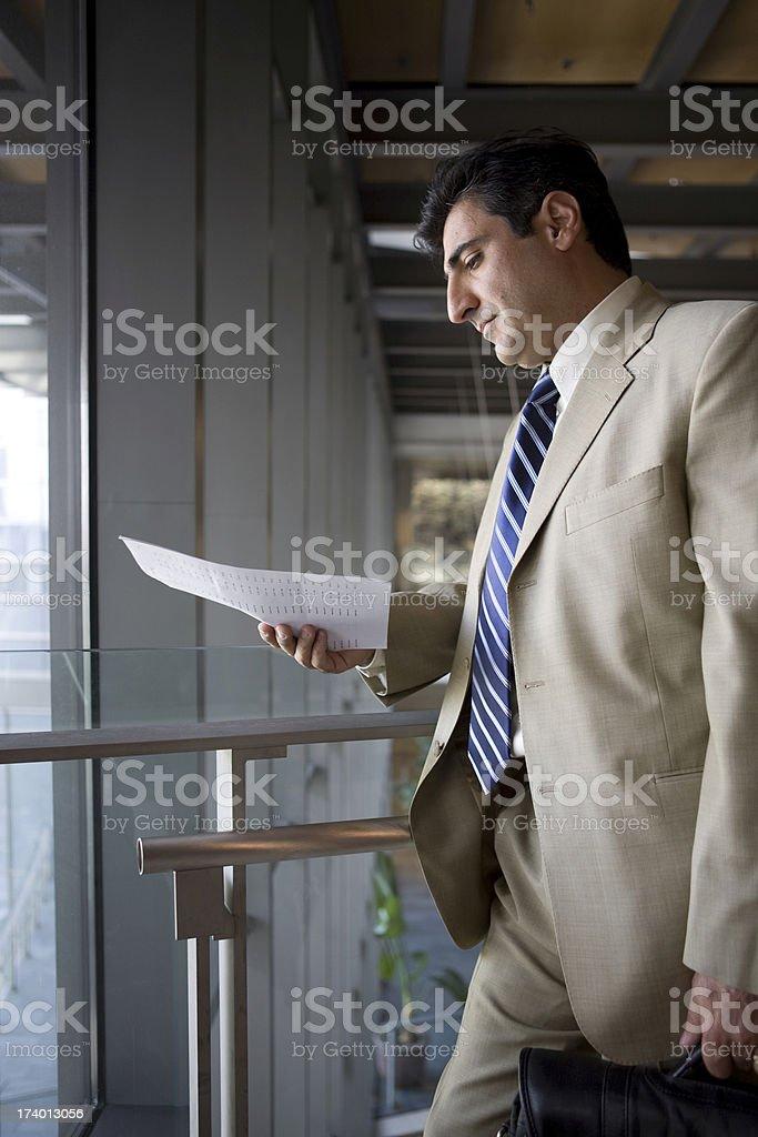 businessman preparing royalty-free stock photo