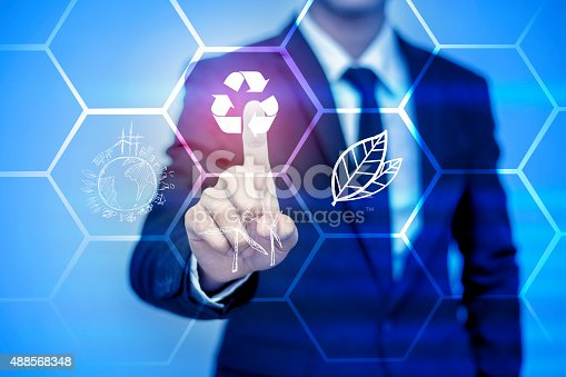 istock businessman pressing support button on virtual screen. 488568348
