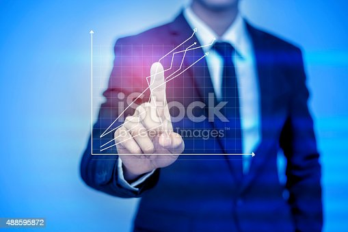istock businessman pressing support button on virtual screen. 488595872