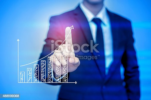 istock businessman pressing support button on virtual screen. 488599068