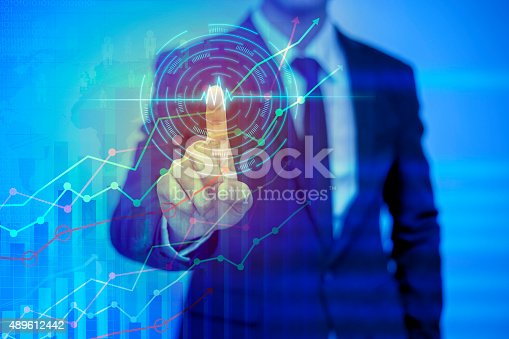 istock businessman pressing support button on virtual screen 489612442