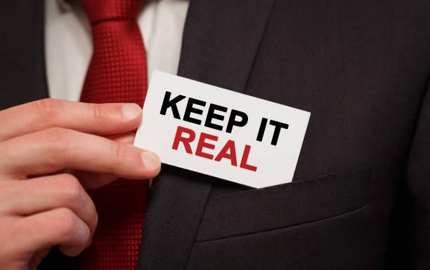 Businessman putting a card with text keep it real in the pocket picture id857775360?b=1&k=6&m=857775360&s=612x612&w=0&h=dyynjxmviefbtadrckham475y7cbb qn zagtjl3zwo=