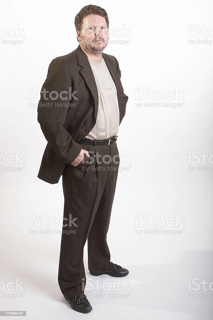 Businessman series 3 royalty-free stock photo